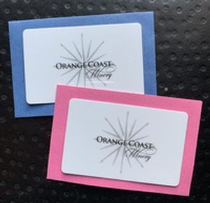 Orange Coast Winery giftcards